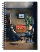 Blue Interior Spiral Notebook