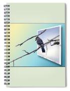 Blue Jay Branch Spiral Notebook