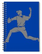 Blue Jays Shadow Player1 Spiral Notebook