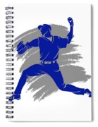 Blue Jays Shadow Player2 Spiral Notebook