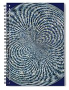 Blue Jean Patch  Spiral Notebook
