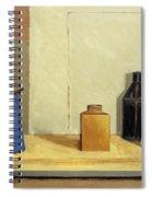 Blue Jug Alone Spiral Notebook