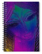 Blue Lady Spiral Notebook