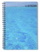 Blue Lagoon. Spiral Notebook