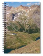 Blue Lakes Spiral Notebook