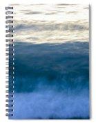 Blue Lines Spiral Notebook