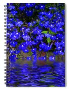Blue Lobelia Spiral Notebook