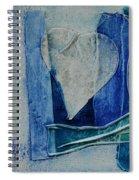 Blue Love 11 Spiral Notebook