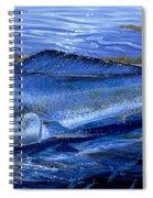 Blue Mahi Off0071 Spiral Notebook