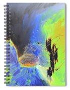 Blue Mars Spiral Notebook