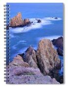 Blue Mermaids Spiral Notebook