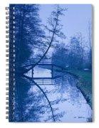 Blue Monday Spiral Notebook