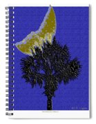Blue Moon Over Palmetto  Spiral Notebook