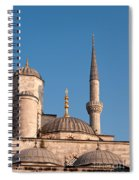 Blue Mosque 02 Spiral Notebook