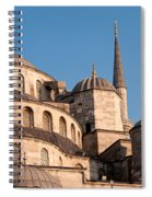 Blue Mosque Domes 08 Spiral Notebook