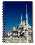 Blue Mosque In Istanbul Spiral Notebook
