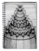 Blue Mosque Stalactites Spiral Notebook