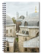 Blue Mosque View From Hagia Sophia Spiral Notebook