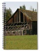 Blue Mountain Barn Spiral Notebook
