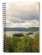 Blue Mountain Lake Spiral Notebook