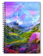 Blue Mountain Pool Spiral Notebook