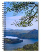Blue Mountains Spiral Notebook
