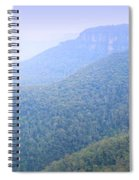 Blue Mountains Panorama Spiral Notebook