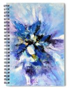 Blue Mystery Spiral Notebook