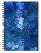 Blue - Natural Abstract Series Spiral Notebook