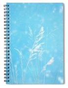 Blue Nature Spiral Notebook