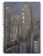 Blue Night Close Up 1 Spiral Notebook
