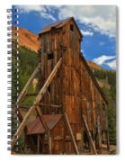 Blue Over The Yankee Girl Spiral Notebook