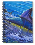 Blue Persuader  Spiral Notebook