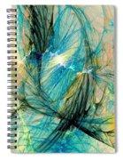 Blue Phoenix Spiral Notebook