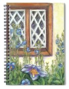 Blue Poppies Of Luss Spiral Notebook
