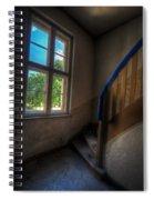 Blue Rail Spiral Notebook