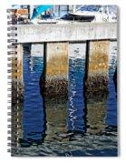 Blue Reflections Spiral Notebook