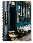 Blue Restaurant Spiral Notebook