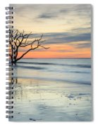 Blue Reverence Charleston Sc Ocean Sunrise Spiral Notebook