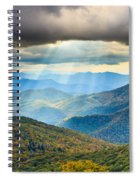 Blue Ridge Glory Spiral Notebook