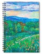 Blue Ridge Meadow Spiral Notebook