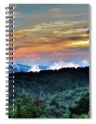 Blue Ridge Mountain Sunrise  Spiral Notebook