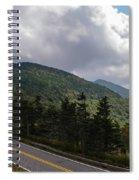 Blue Ridge Mountains And Blue Ridge Parkway Spiral Notebook