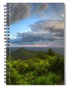Blue Ridge Mountains Panorama Spiral Notebook