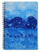 Blue Ridge Original Painting Spiral Notebook