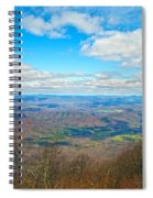 Blue Ridge Parkway Beautiful View Spiral Notebook