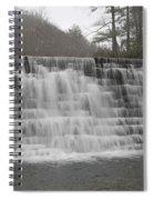 Blue Ridge Parkway Meandering Waters  Spiral Notebook