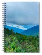 Blue Ridge Parkway National Park Sunrise Scenic Mountains Summer Spiral Notebook