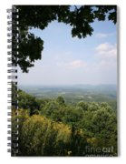 Blue Ridge Parkway Scenic View Spiral Notebook