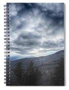 Blue Ridge Parkway Winter Scenes In February Spiral Notebook